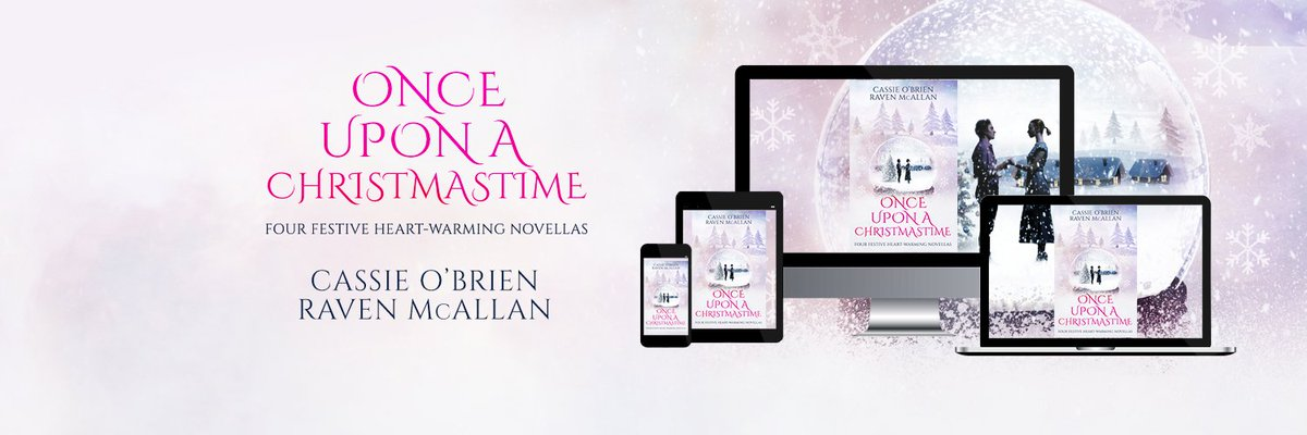 Want to get in a festive mood? Now's your chance Once Upon a Christmastime 4 heroes and their heroines... from Regency until the present day All different all wondering...what next... Because love can come calling at the most amazing places #festivevibes