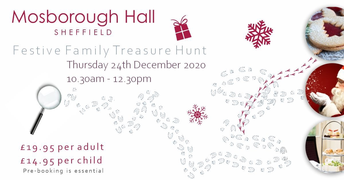 We can't wait for our Family Festive Treasure Hunt on Christmas Eve!   Hosted with @TreasureRove , take part in the treasure hunt around and then enjoy a delicious festive Afternoon Tea.   Please visit the link below for the full details🎄  W. https://t.co/WNmPAUpz2f https://t.co/bcTE7AzS3T