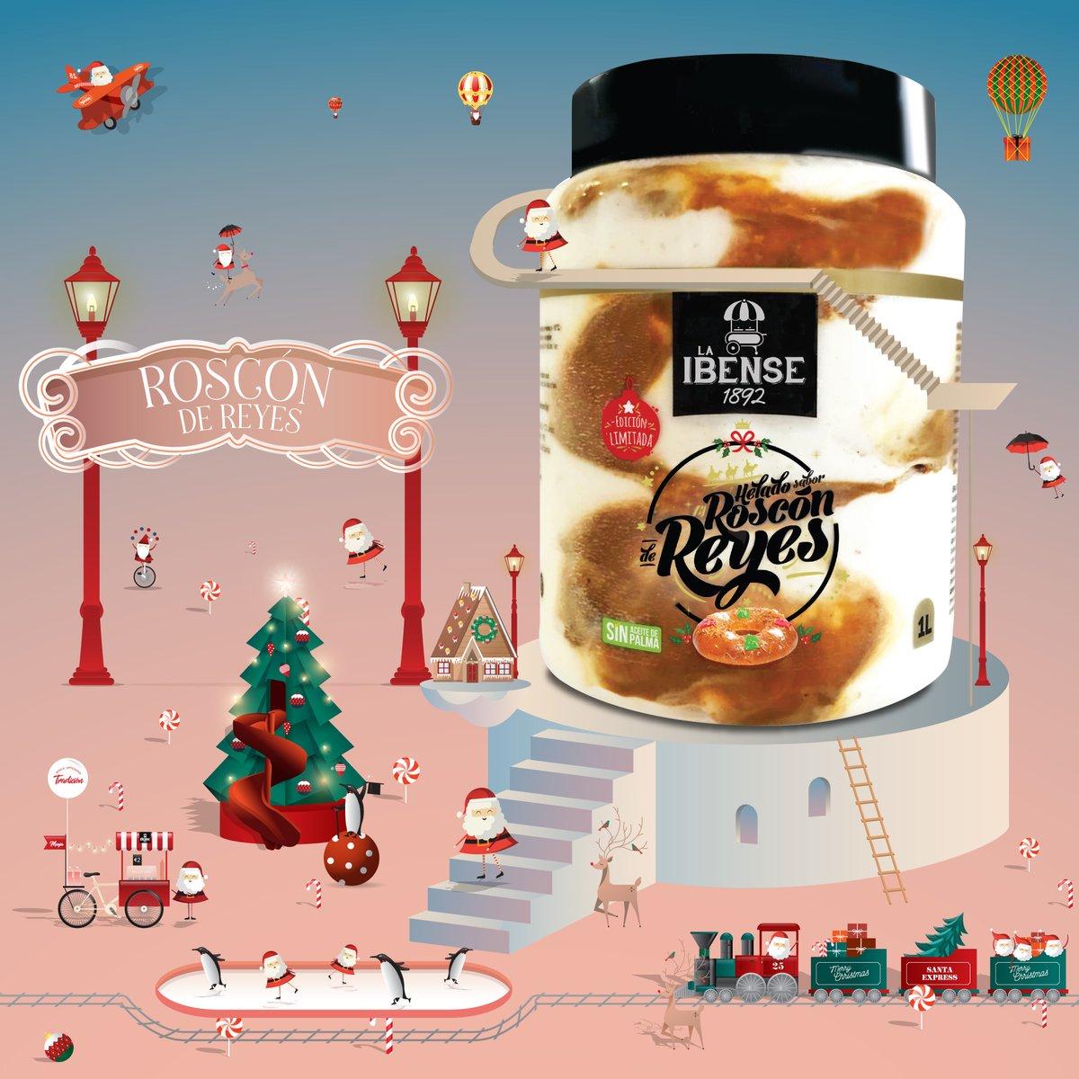 ¿Os habéis hecho ya con provisiones de nuestro helado de Roscón de Reyes👑? Recordaros que lo podéis encontrar, principalmente, en Alcampo, Ahorramas y E. Leclerc. #laibense1892 #instantesenormes #roscondereyes #Navidad2020 https://t.co/MgSACAxut0