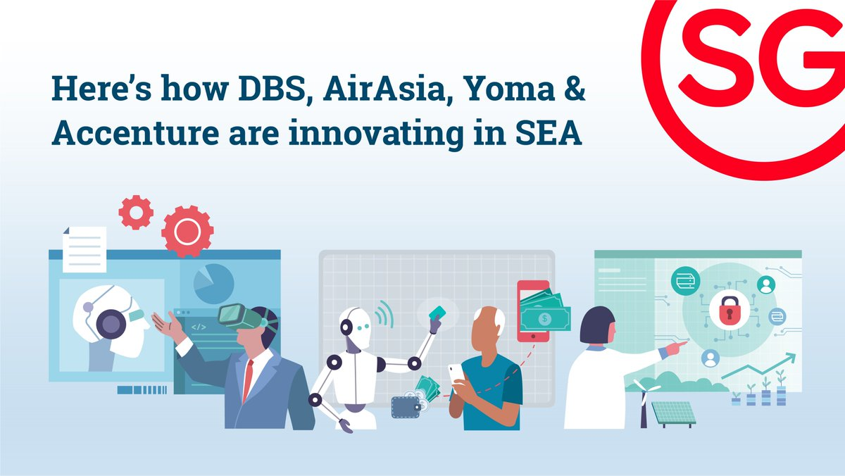 .@dbsbank, @airasia, Yoma & @Accenture are innovating creative solutions & products 💡✨ right here in Southeast Asia. Find out their tips for future-proofing #businesses, from #talent to ecosystems: https://t.co/ocrHuvzOfB https://t.co/YSN7qg1kSt