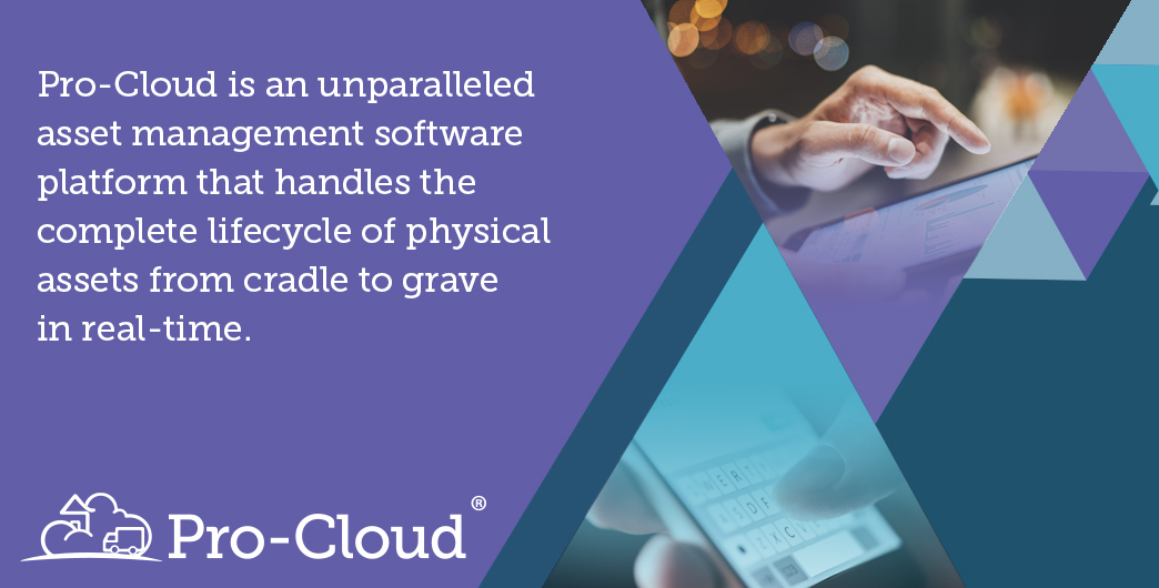Pro-Cloud will manage the complete lifecycle of a physical asset! #assetlifecycle #assetmanagementsoftware