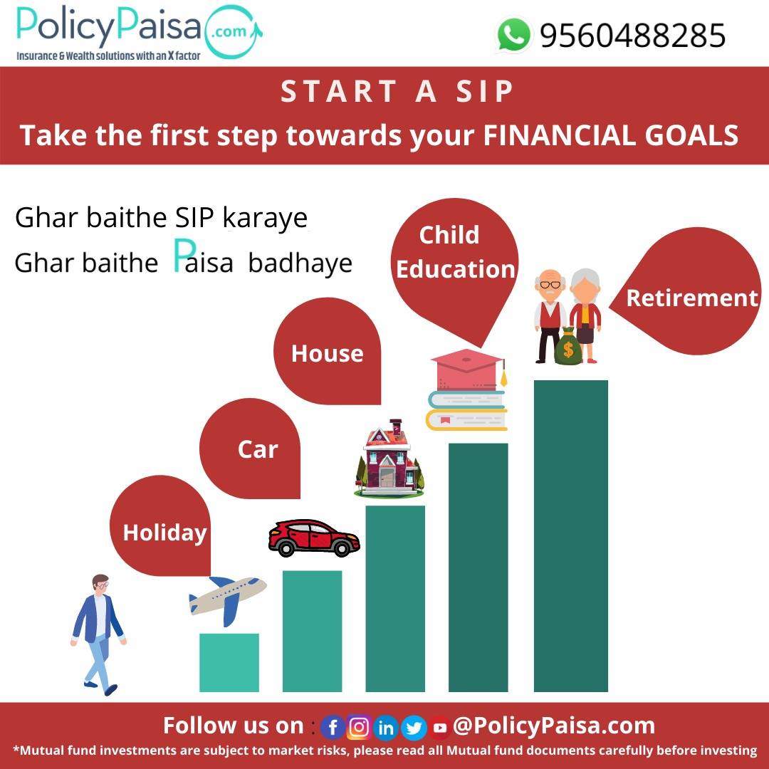 Investing in mutual funds through SIP is one of the best ways to meet your financial goals.SIP makes it easier to budget for investment goals.#FinancialFreedom #WealthManagement #MutualFundsSahiHai #sip #systematicinvestmentplan