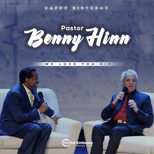 Happy Birthday Highly Esteemed Pastor Benny We love & celebrate you always