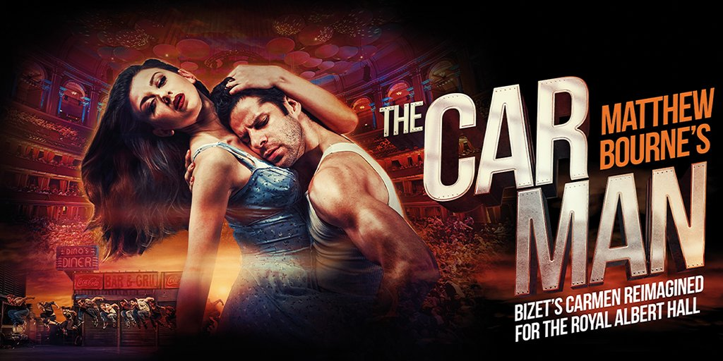 FASTEN YOUR SEATBELTS!   New Adventures will be presenting a SPECTACULAR NEW STAGING of the dance thriller @SirMattBourne's #THECARMAN at @RoyalAlbertHall. Early access tickets for newsletter subscribers on 9 Dec ⏰  Click here for more info: