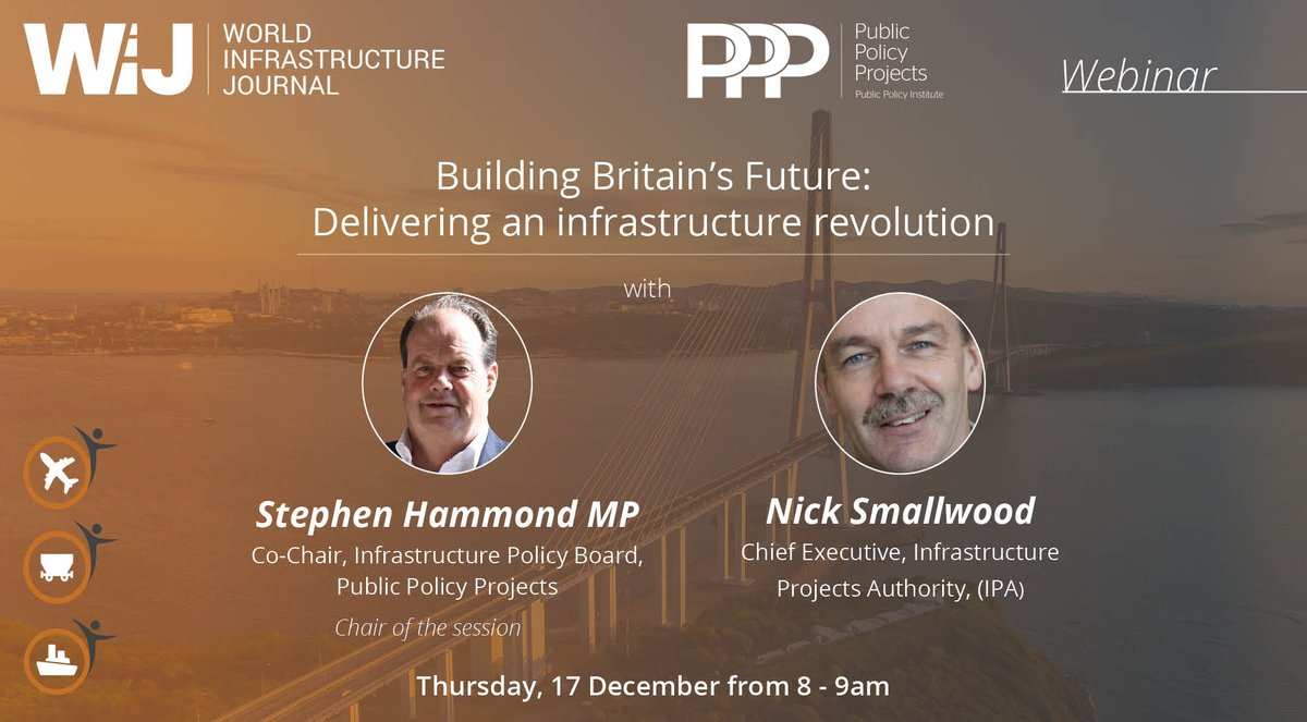 test Twitter Media - 17th December: Join @Policy_Projects  & @WIJnews for our infrastructure webinar 'Building Britain's Future: Delivering an infrastructure revolution' - Chair @S_Hammond MP will be joined by Nick Smallwood, Chief Executive @ipagov   Register: https://t.co/TWg2NKH0vu https://t.co/PuTrLSEiP5