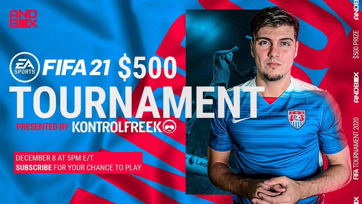 What is up, my beautiful people! Join @MikeLaBelle on December 8 at 5PM ET in this subs only #FIFA21 Tournament presented by @KontrolFreek.   Want to get in on the action? Make sure you subscribe to Mike for your chance to play.