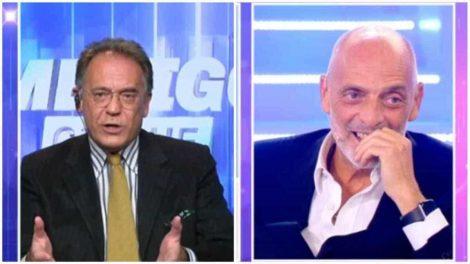 """""""Paolo, ti ricordi quando ci siamo baciati?"""", così Cecchi Paone a Brosio - https://t.co/29aD30dByn #blogsicilia #brosio #cecchipaone"""