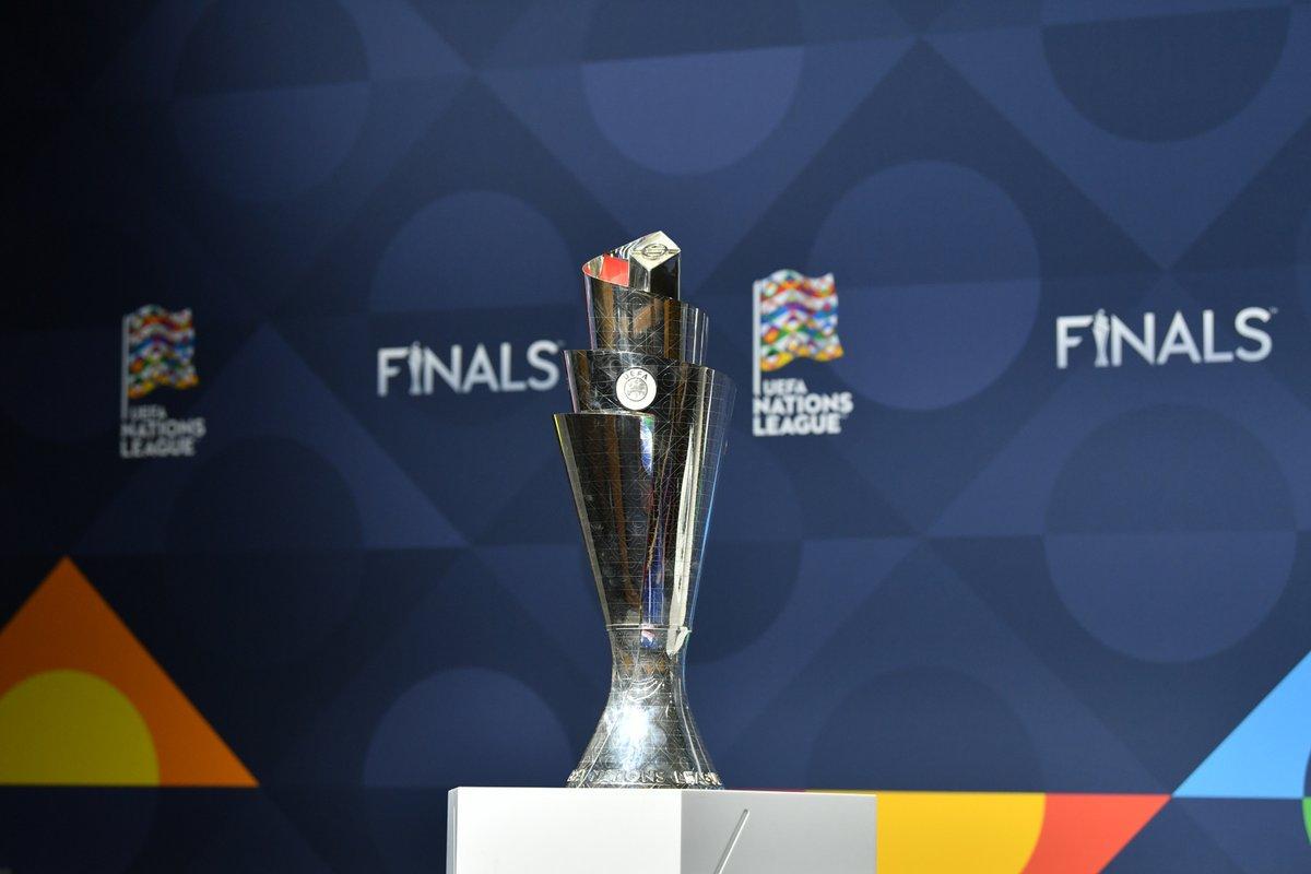 🖐️🏻🔵 ¡¡Se acerca la hora del sorteo de la Fase Final de la UEFA #NationsLeague!!  📺 Podrás seguir la rueda de prensa de @LUISENRIQUE21 EN DIRECTO tras el mismo a través de nuestras redes sociales.  🆚 ¿Quién será nuestro rival en semis 🇧🇪, 🇮🇹 o 🇫🇷?  #SomosEspaña #SomosFederación