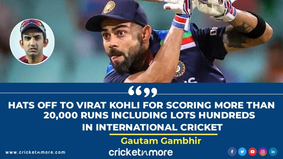 Gautam Gambhir Appreciated Virat Kohli 😳😳 . . #IndianCricket #TeamIndia #Aussie #AustraliaCricket #AUSvIND #NZVWI #SAvENG #gautamgambhir #gg #viratkohli