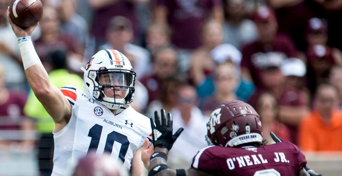 Behind Enemy Lines: Five questions with an Auburn expert on what he expects in the Texas A&M game #GigEm   https://t.co/RyCFBqjztr https://t.co/Ll2p7CFxFP