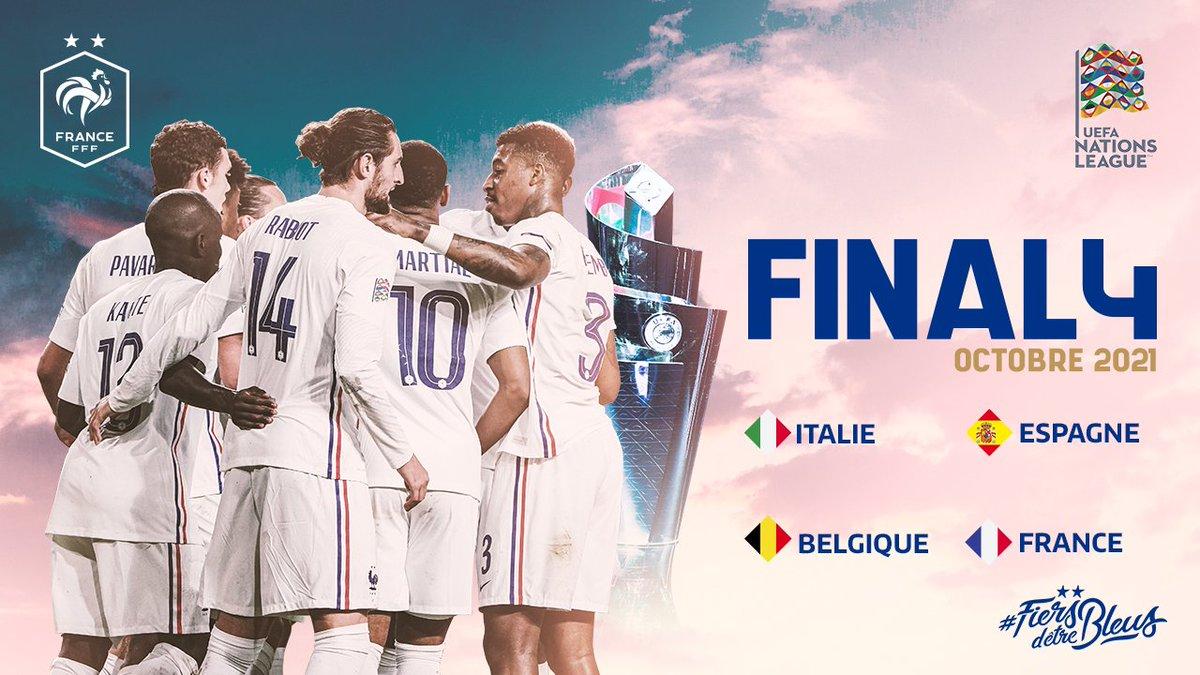 Final 4 de la Ligue des Nations 2020/2021 : Belgique - France en demi-finale 👊 #FiersdetreBleus