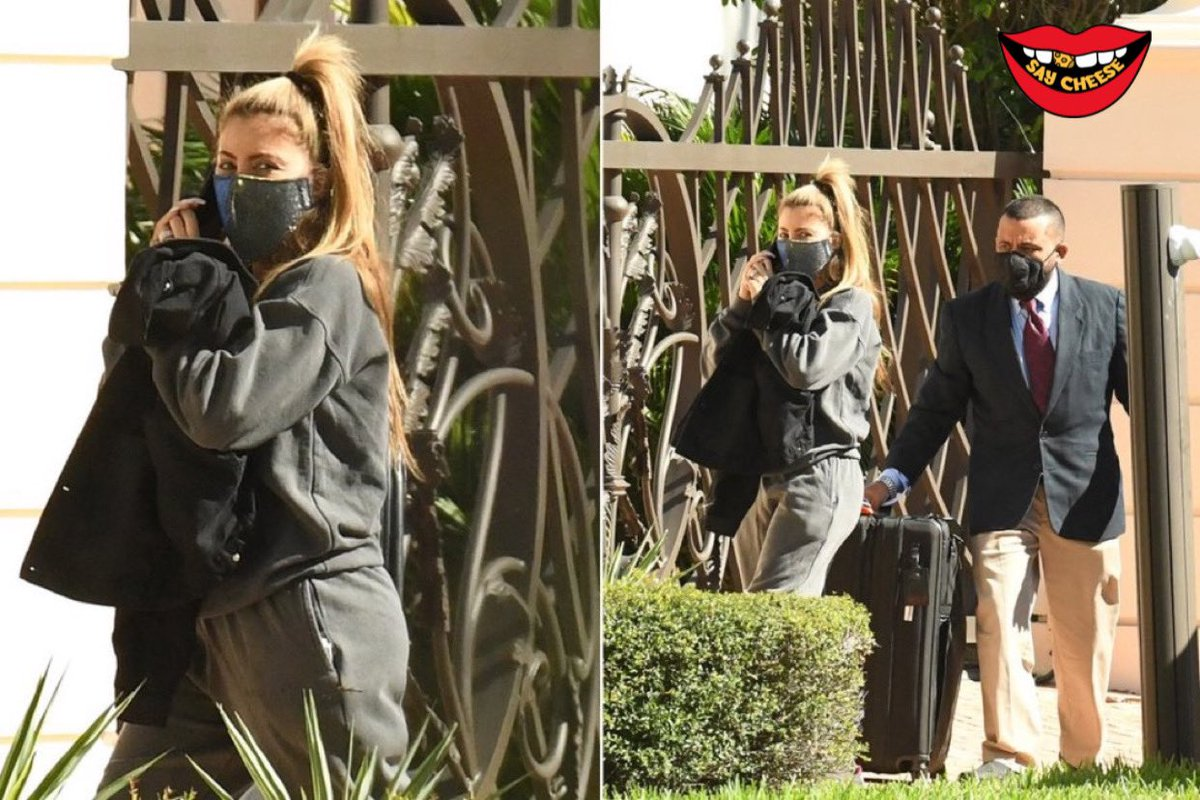Larsa Pippen returns home to Scottie Pippen after being spotted with married NBA baller a few days ago.