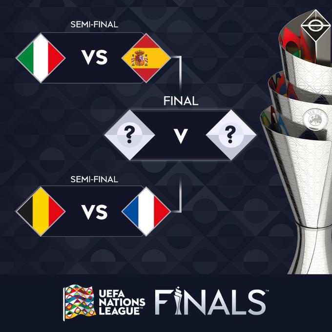 #YoEscuchoElVbarCaracol   ⚽️🏆Definidas las semifinales de la UEFA Nations League  🇮🇹Italia vs España🇪🇸 🇧🇪Bélgica vs Francia🇫🇷  🗣️Se disputará en octubre de 2021, en Italia.  ⁉️¿Quién se quedará con el título?  📻Sintonice: Lunes a viernes de 2 a 4pm por @CaracolRadio
