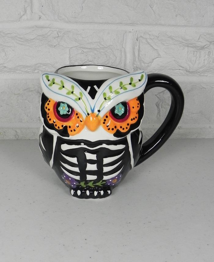 Spectrum Designz 3D Owl Sugar Skull Day of the Dead Coffee Tea Mug 16oz New https://t.co/SxPTPcZjbE @eBay #shopsmall #gifts #halloween https://t.co/fnUlH3SeCi