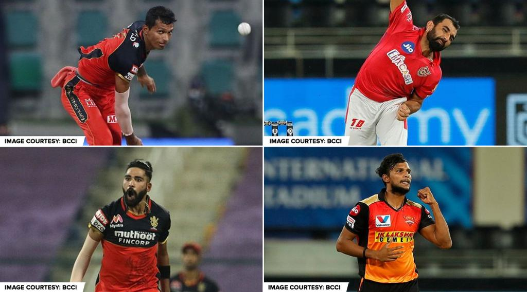 All aboard India's Express train! 🔥   Who among these four bowled the fastest delivery in #Dream11IPL 2020? Answer 👇  #HowIMissDream11IPL