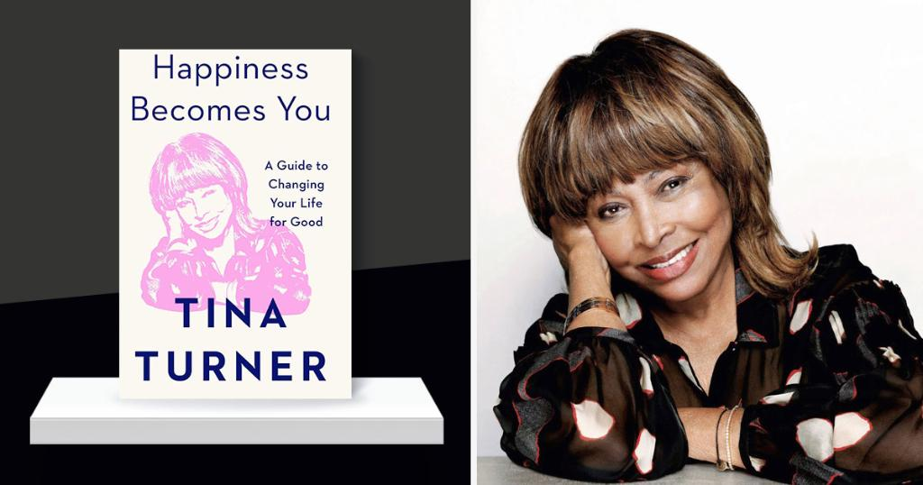 "Inspiring happiness: We asked living legend @LoveTinaTurner a few questions about her uplifting new book ""Happiness Becomes You"":"