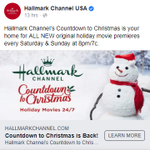"""Image for the Tweet beginning: The """"Countdown to Christmas"""" is"""