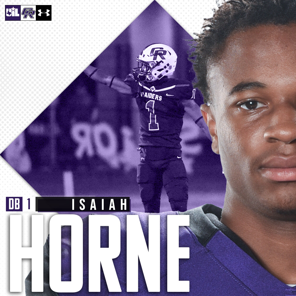 𝐌𝐞𝐞𝐭 𝐭𝐡𝐞 𝐒𝐞𝐧𝐢𝐨𝐫𝐬:  ⚔️ DB Isaiah Horne  ⚫ OL Corban Hutcherson  ⚔️ WR T'Khari Gregory  Thank you seniors for your continued leadership and commitment to the program.  #WeAreCR | #ALLin | #txhsfb https://t.co/kPjbUQqEw1