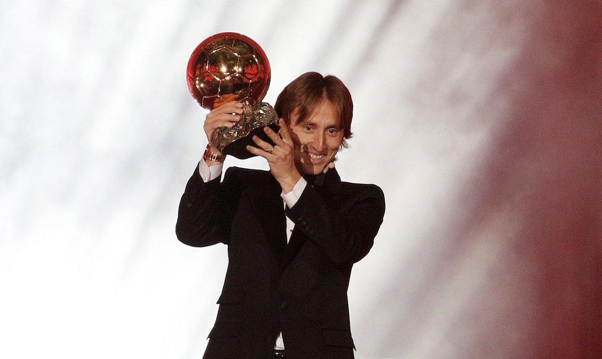 #OnThisDay 2⃣ years ago, @lukamodric10 won the 2018 Ballon d'Or! ✨  #LaLigaSantander