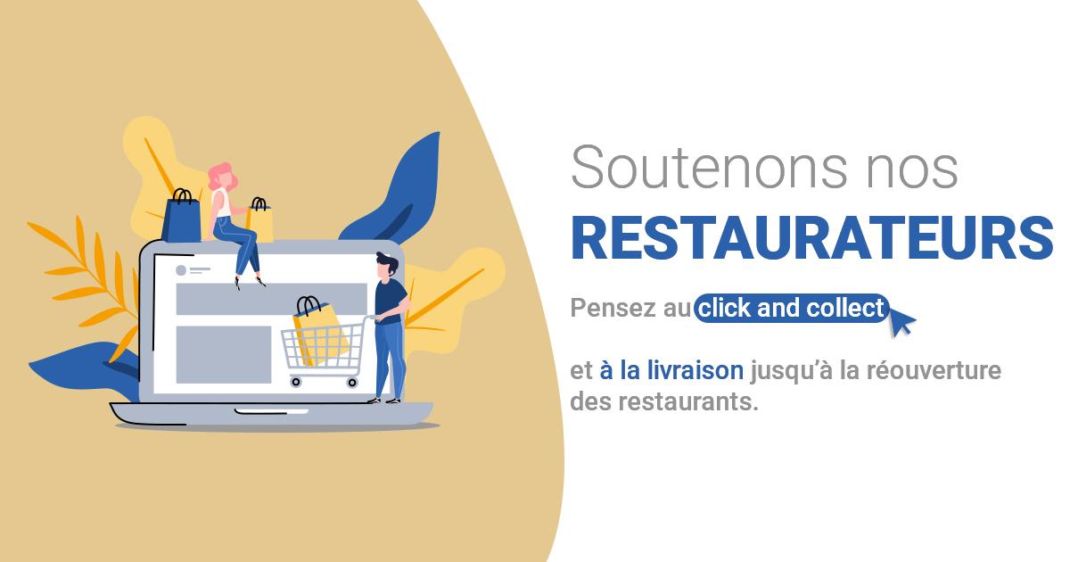Soutenons nos restaurateurs🧑🍳  En attendant la réouverture physique des #restaurants de Croissy-sur-Seine, pensez à la #livraison et au #ClickandCollect , ils proposent tous la possibilité de savourer leurs plats de chez soi ! 🍕🍖🍨   ▶️Plus d'infos : https://t.co/Ho3PWleise https://t.co/yTAUhJ7A56