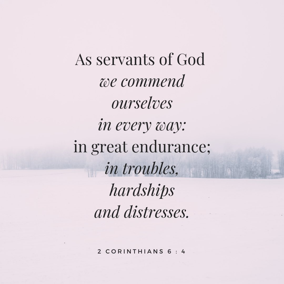 2 Corinthians 6:4 KJV  4 But in all things approving ourselves as the ministers of God, in much patience, in afflictions, in necessities, in distresses  #DivasDenFashion #Christ #Jesus #God #all #things #approving #ministers #patience #afflictions #necessities #distresses #spirit https://t.co/gfh5ddJmSY