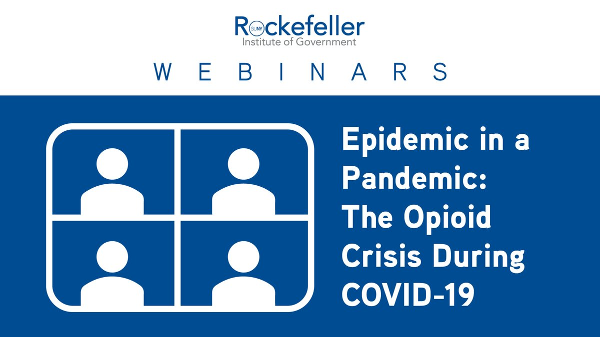 Join us for a webinar examining what is happening to substance-use treatment during the pandemic, the challenges people with substance-use disorders face, and what we can do to improve results.  🕐: Thursday (12/10) at 1:30p  More info & registration: https://t.co/CCw0wlIuwo