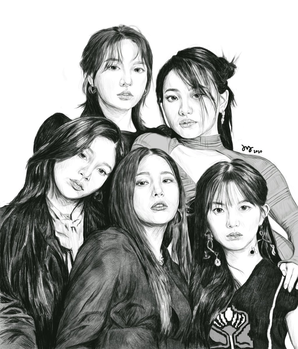 💗💛💙💚💜 #Irene #Seulgi #Wendy #Joy #Yeri #RedVelvet #아이린 #슬기 #웬디 #조이 #예리 #redvelvetfanart