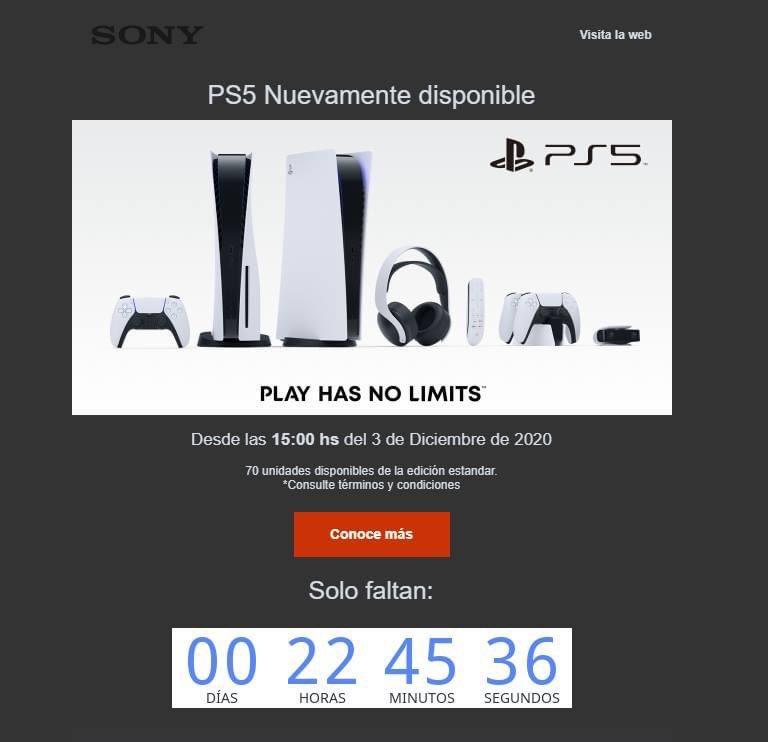 Al parecer hoy a las 3 pm habrá disponibilidad de PS5 en la Sony store de Colombia 😱😱 @Relict_King https://t.co/hJTtSK86yi