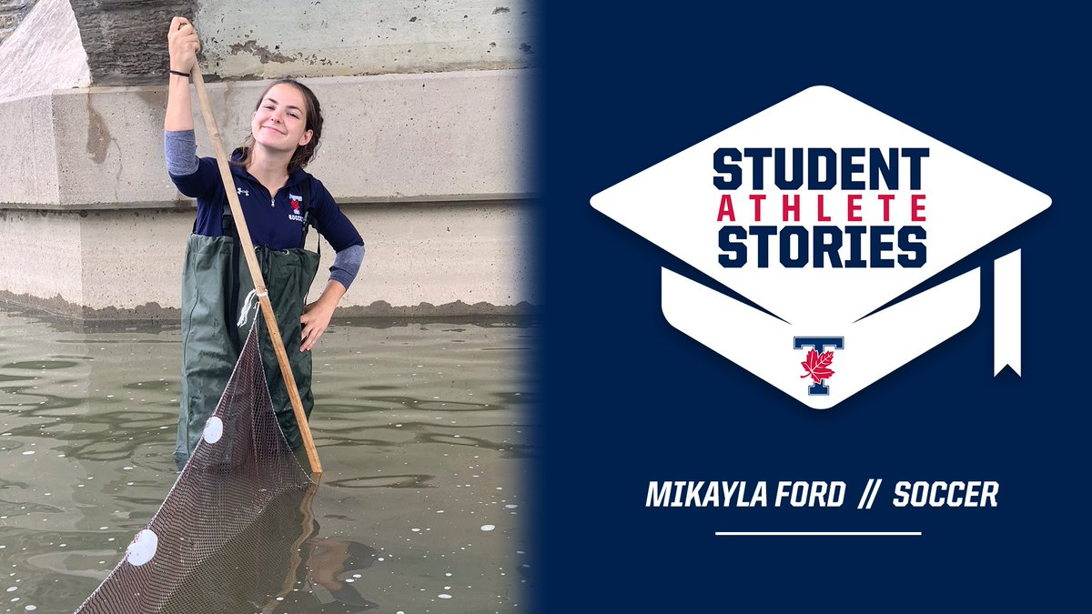 Unlike a lot of students, Mikayla Ford established her academic path at a very young age, but a first-year class at U of T fine-tuned her area of interest.  🗞    WE ALL #BLEEDBLUE | #WeAreTO |  #StudentAthleteStories