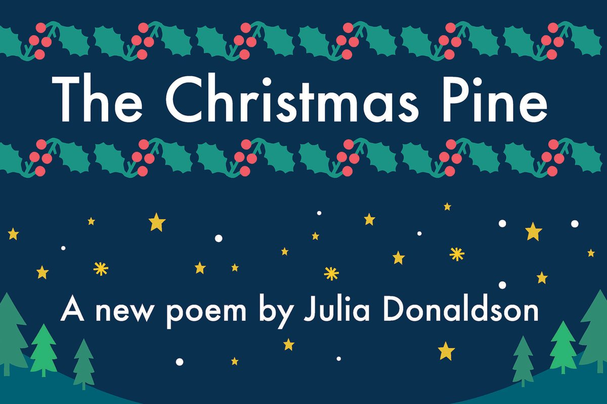 test Twitter Media - Listen to @BBCWorldatOne (from 1.27pm) @Sarah_Montague with Julia Donaldson giving a preview reading and discussion of the #looknorthmoreoften Christmas poem 'The Christmas Pine' ahead of tonight's Trafalgar Square lighting-up ceremony at 6pm GMT https://t.co/bJbHOW64Y8 https://t.co/tSycFjbIab