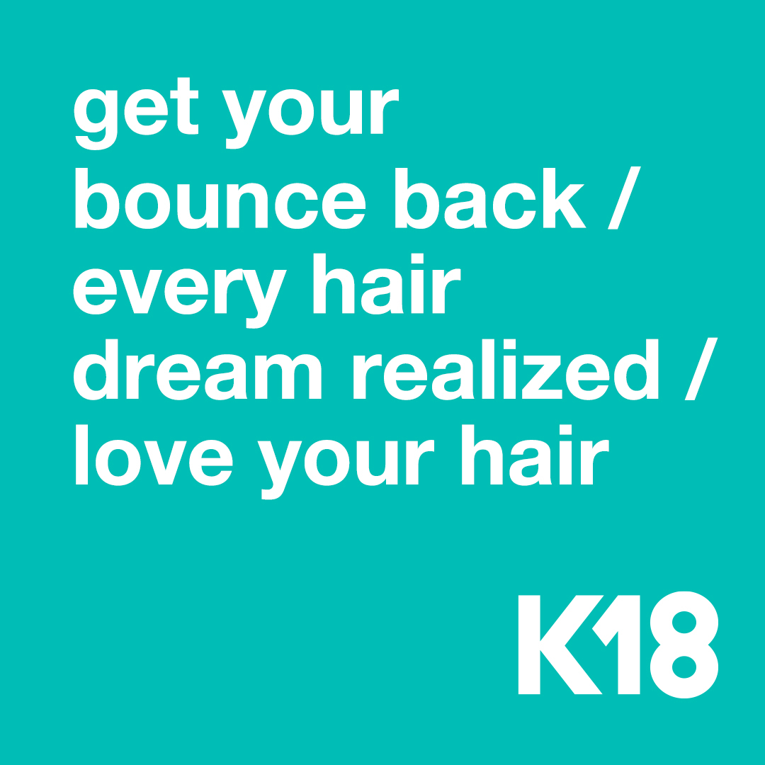 💭 What's your hair dream?   #k18hair