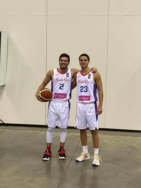 Once rivals now ➡️ teammates 💯 Former #ASUNMBB standouts @Georgie_126 & @IGandia10 suited-up for their home country of Puerto Rico in the FIBA AmeriCup Qualifiers 2022. 🏀 #RiseWithUs | #SWOOPLife