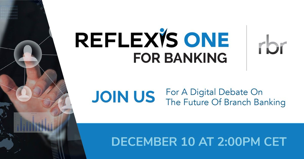 Andrzej Pyka from @SantanderBankPL and Brian Wallace from @ReflexisBanking will be joining RBR for a digital debate on the