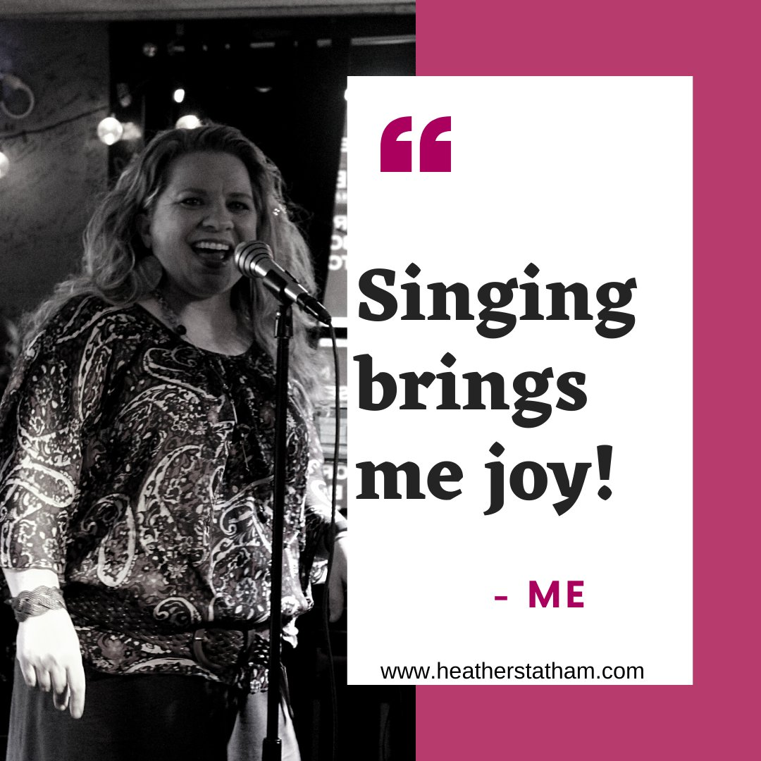 Singing brings me so much JOY! Even when I'm having a bad day or a bad year... Hello - 2020?😁... when I can sing a song, it somehow makes the day better. What song brings you joy?  #vocalcoach #voicelessons #gobeawesome #onlinelessons #auditioncoach #joyofsinging