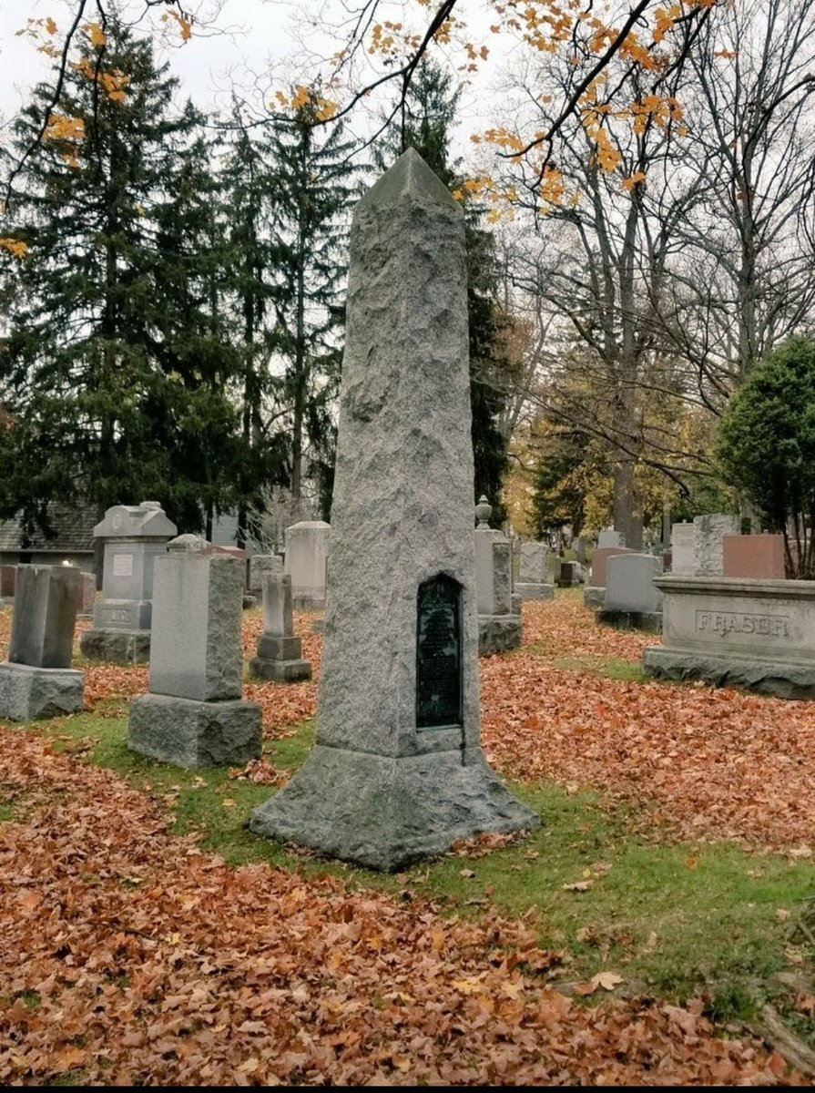 Woodland Cemetery: #ldnont Lest we forget.  Remembering Lieutenant Bartholomew Cottam who was killed in action commanding a raid near Lens, France on December 1,1916. More⤵️   #thursdaymorning #cemeteries #monument #restoration #heritage