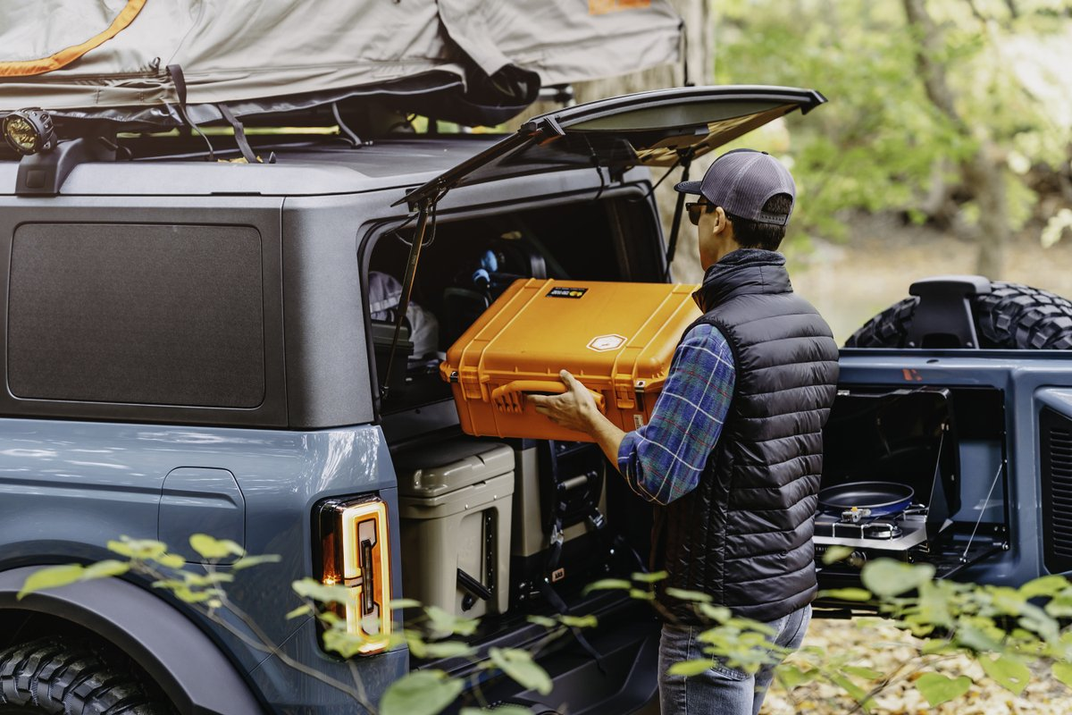 Camping is just cooler with a Bronco. What's the first place you'll take yours? https://t.co/jBGWGUvaUQ
