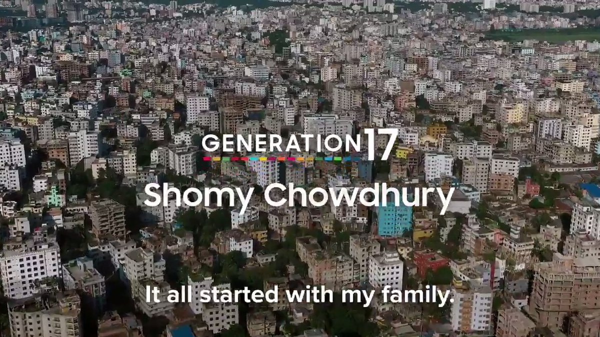 Meet Shomy Chowdhury, the founder of @awareness_360. This WASH advocate for clean water & sanitation is one our #Generation17 young leaders featured in our #SamsungGlobalGoals app with  @SamsungMobile. Read her story: