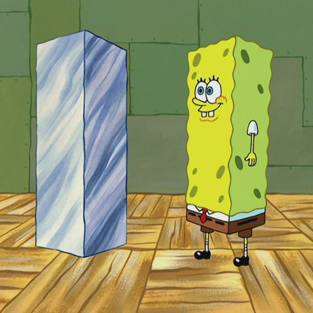 Replying to @SpongeBob: BE the monolith!
