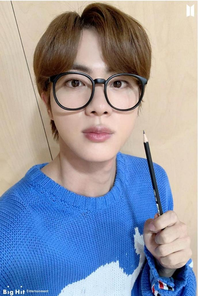 #HappyBirthdayJin #HAPPYJINDAY #JINDAY Happy birthday worldwine handsome. I love you 💜