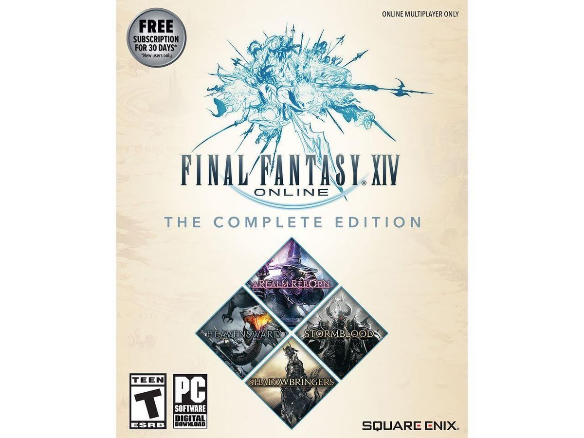 Final Fantasy XIV Complete Edition (PC Digital) is $43.49 on Newegg w/ code EMCGFDE25 2