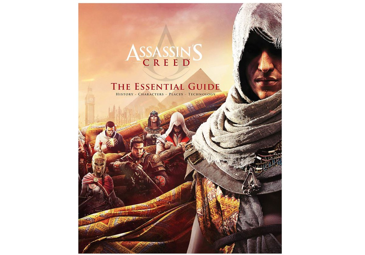 Assassin's Creed: The Essential Guide $16.99 via Amazon (Prime Eligible). Clip Coupon. 2