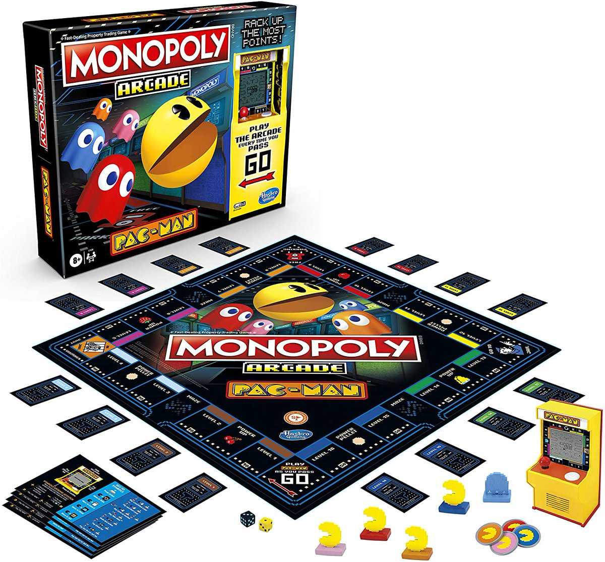 Monopoly Arcade Pac-Man Game Board Game is $15 on Amazon 2