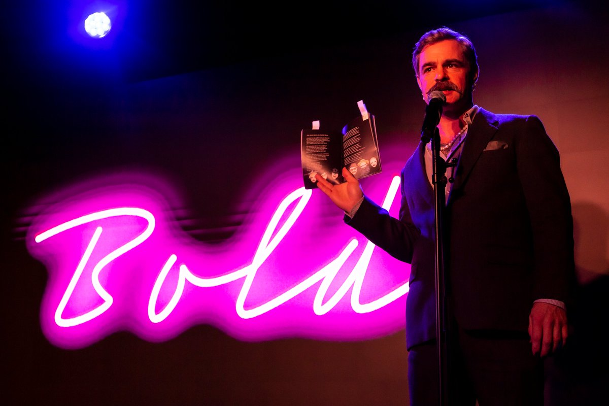 Our poetry soirée, BOLD, is happening again @abovethestag 7 Jan 2021, this time with our amazing special guest @JTaylorTrash. Get your tickets here: bit.ly/2VtWwZM. In association with @WritingUntitled. Hope to see you all there.