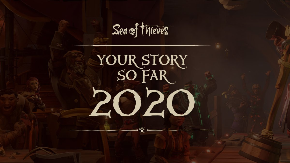 Your Story So Far 2020 round-up is here! From Ashen Lords shattered to Ruby Splashtails reeled in, pore over your performance in stats themed around a year of Sea of Thieves updates. Yes, it also includes hours played this year.  🏴‍☠️