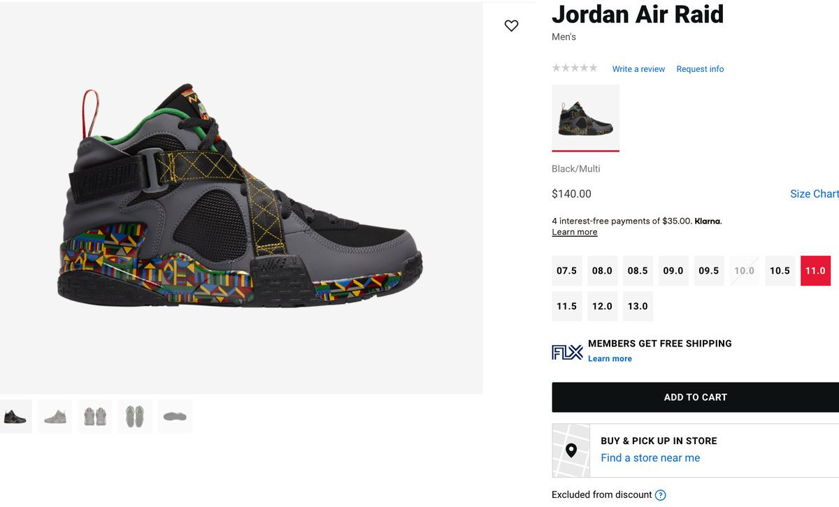 RESTOCK Nike Air Raid 'Live Together Play Together' =  2