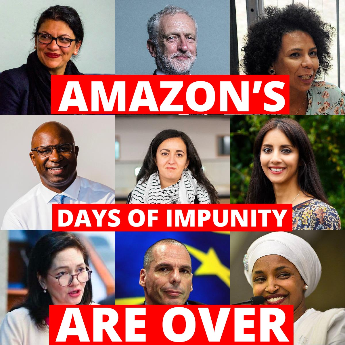 BREAKING: Parliamentarians across the planet unite to makeamazonpay.com. Last Friday, a new global movement mobilized to demand justice from @Amazon. Today, over 400 MPs across 34 countries pledge to stand with that movement in a letter to CEO Jeff Bezos. Watch now 📽️