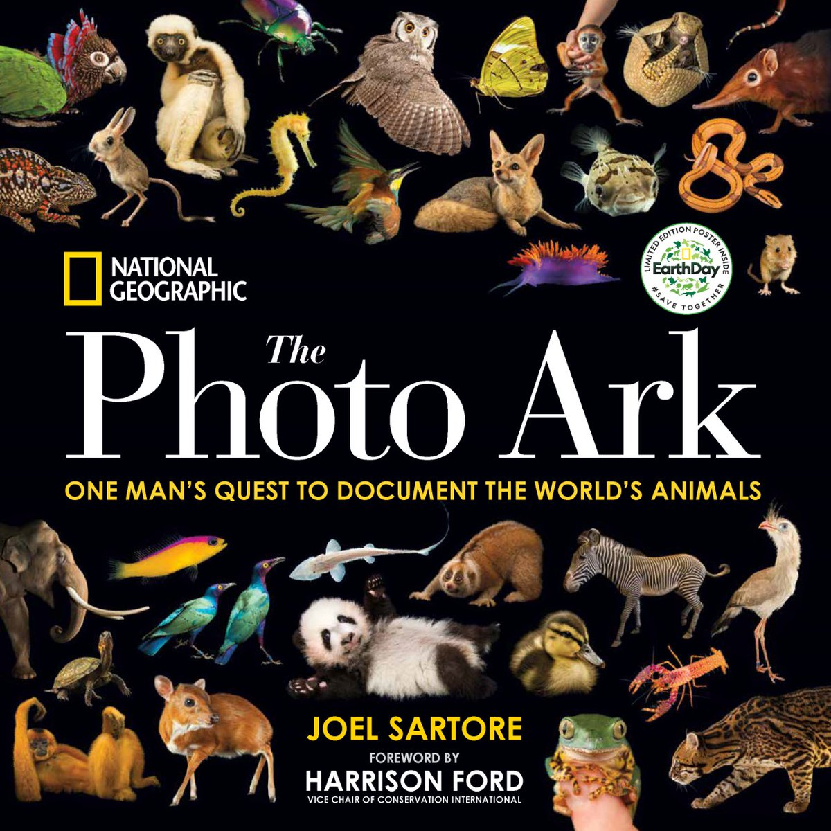 For your dear environmentalist, these moving photos bring you eye-to-eye with the world's endangered species and this special edition comes with an amazing free poster: https://t.co/aNiKQimXOr https://t.co/oLk7b8lSO1