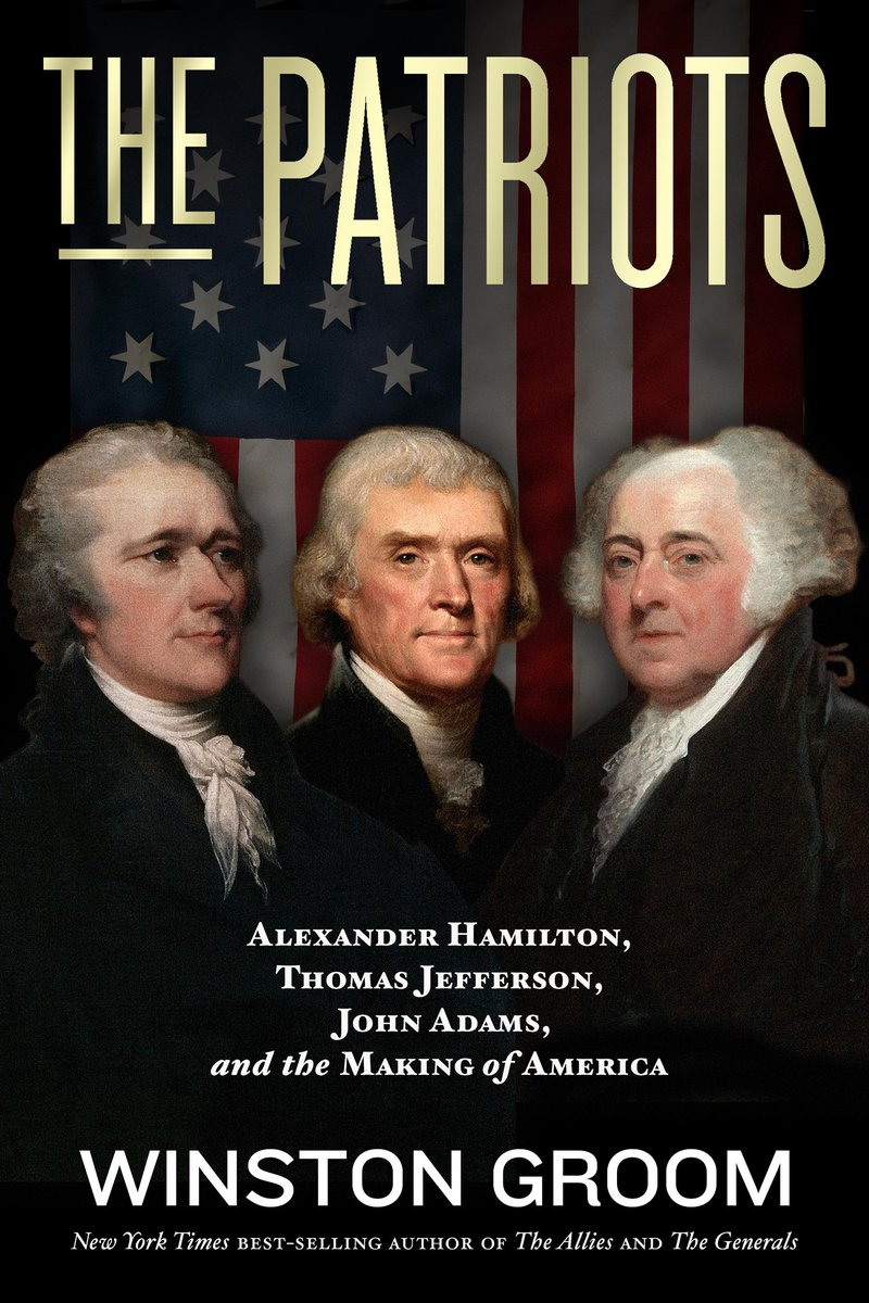 A sure favorite for fans of U.S. history by bestselling author Winston Groom whose riveting account of American icons Alexander Hamilton, Thomas Jefferson, and John Adams tells the story of the founding of U.S. democracy: https://t.co/iwdJFcAIYH https://t.co/vtpZnuokUJ