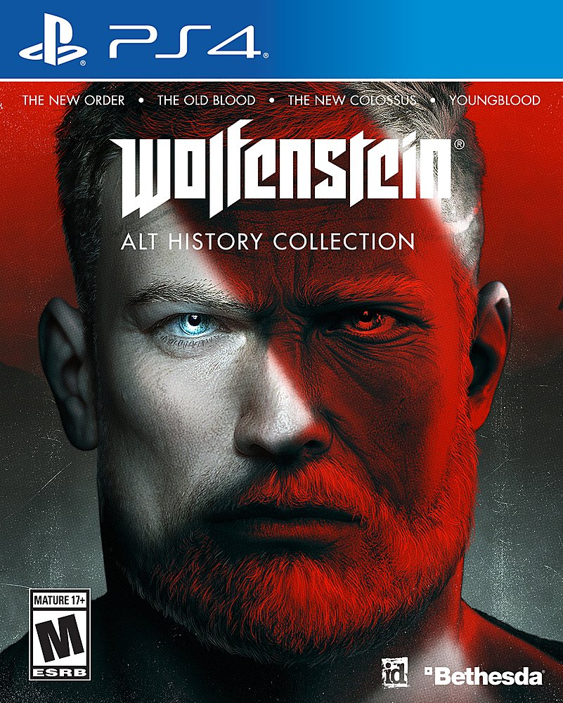 Wolfenstein: The Alternative History Bundle (PS4/XBO) is $29.99 at Best Buy 2
