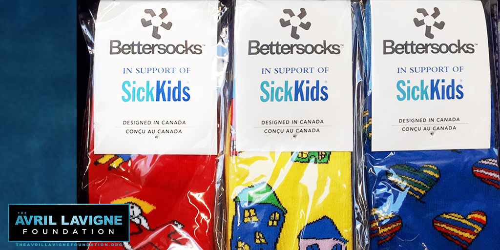 Let's all get together & help our friends @SickKids !! Visit  now to get your own pair of @Bettersocks, hand drawn by patients, to raise funds for scientific research and to improve the health of children. #SickKidsToronto